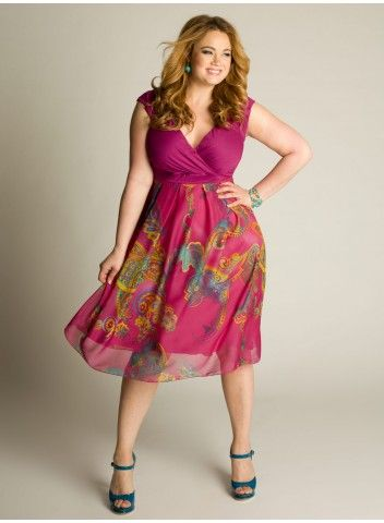 Cheap Plus Size Summer Dresses - curvyoutfits.com
