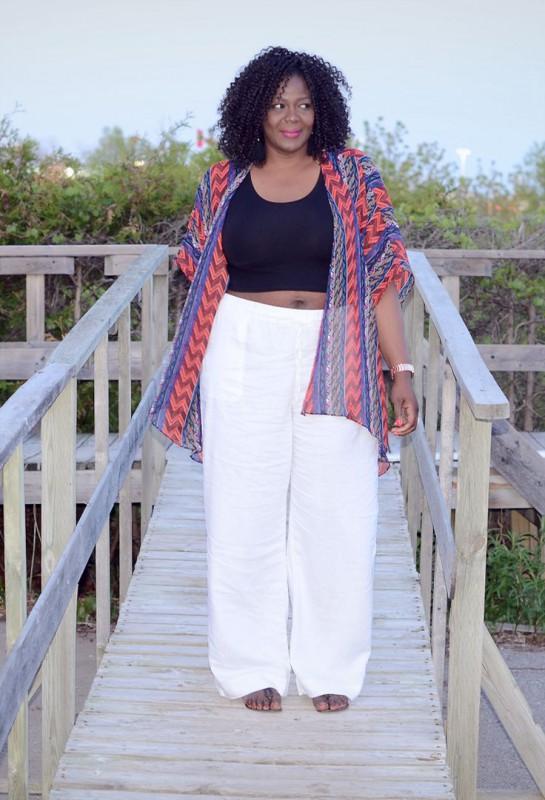 Plus Size Linen Pants - curvyoutfits.com