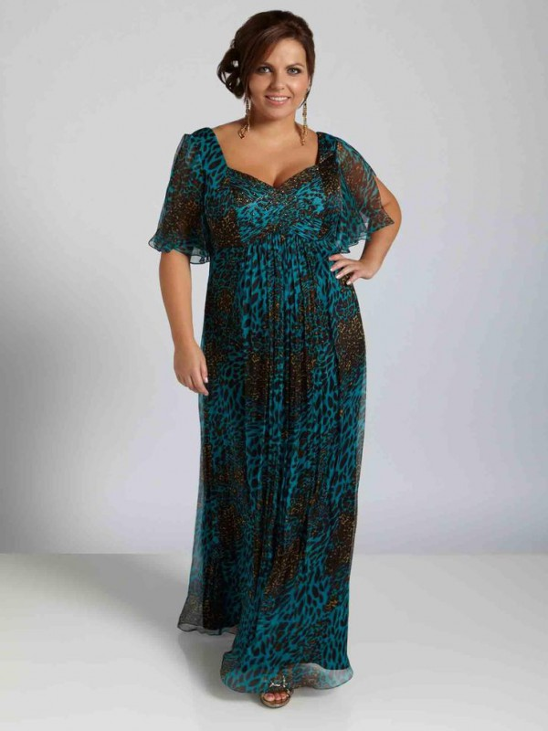 Emejing Evening Dresses Plus Size With Sleeves Ideas ...