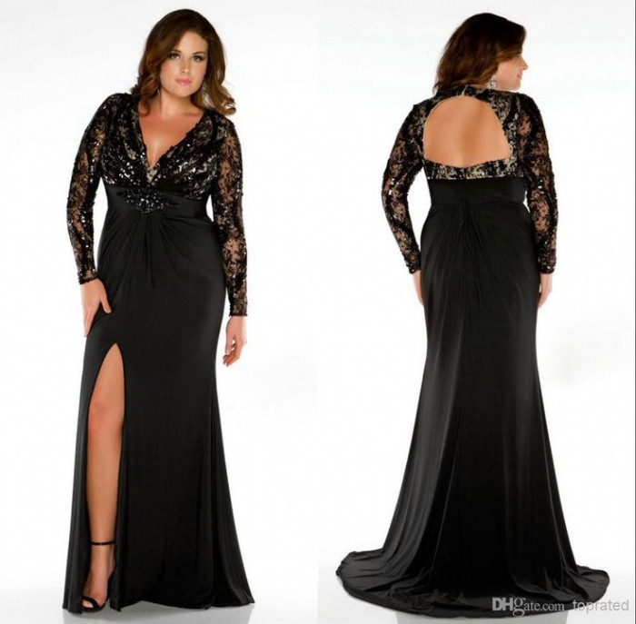 plus size evening gowns with sleeves 5 best - page 5 of 5