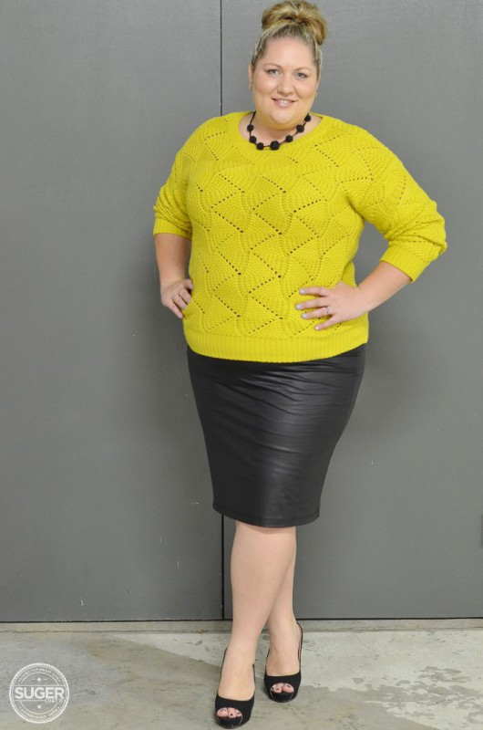 plus size leather skirt 5 best outfits - page 5 of 5