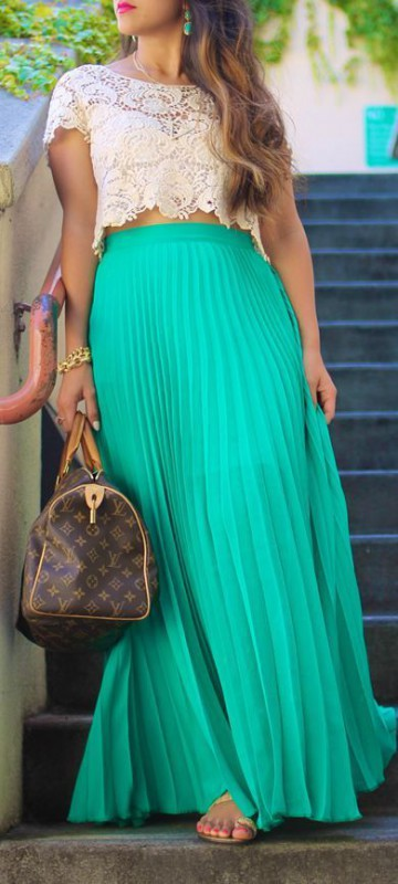 Plus size long skirts 5 best outfits
