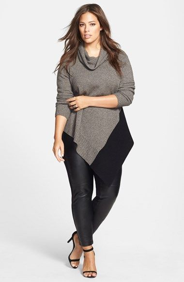 Plus Size Outfits With Leggings 5 best - curvyoutfits.com