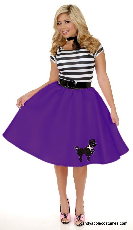 Plus Size Poodle Skirts 5 Best Outfits