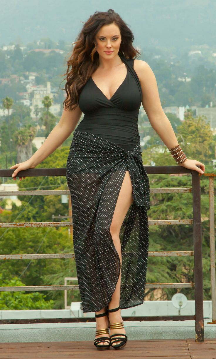 pretty plus size outfits 5 top - curvyoutfits