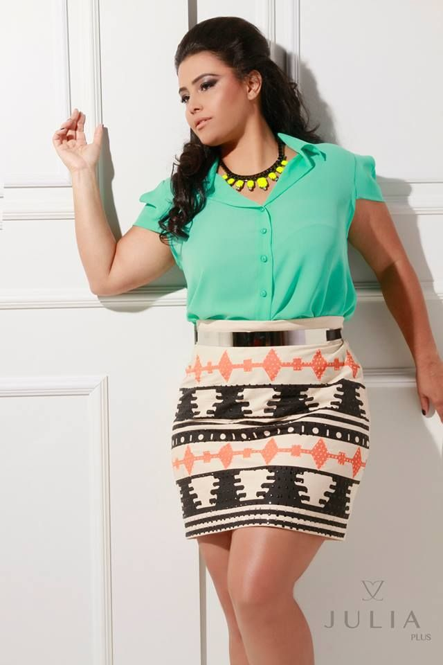 pretty plus size outfits - curvyoutfits