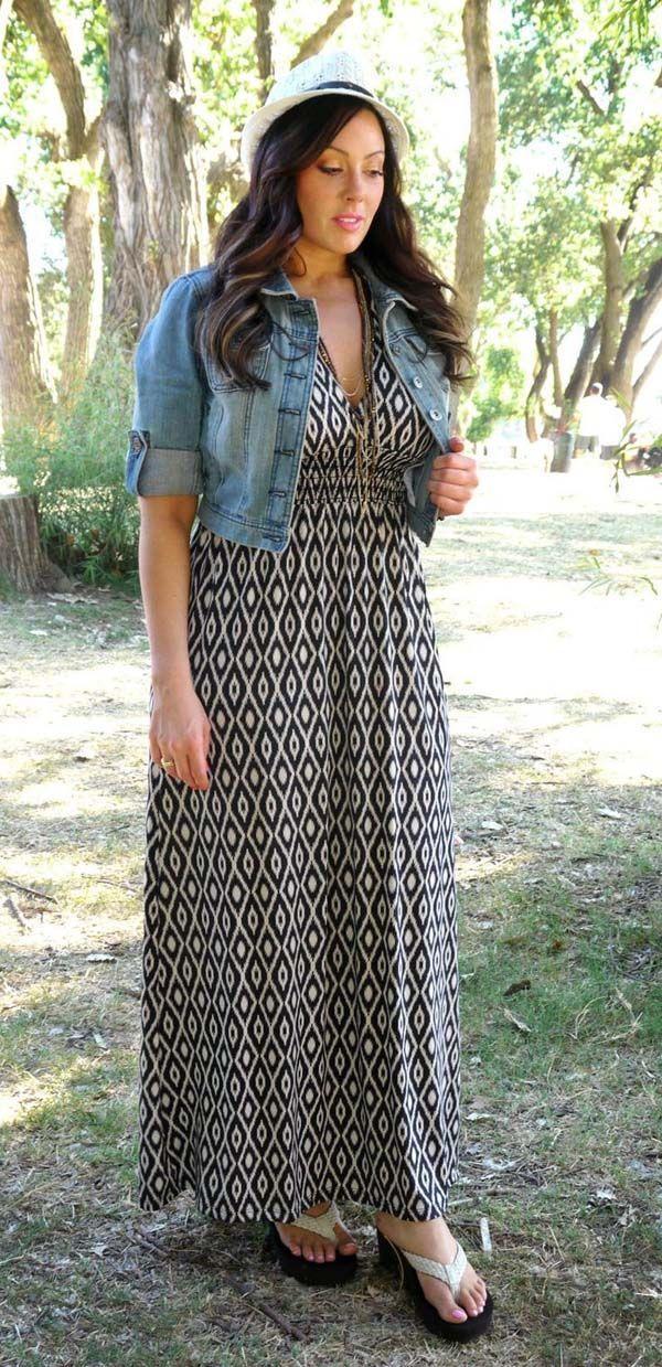 Plus Size Modest Dress