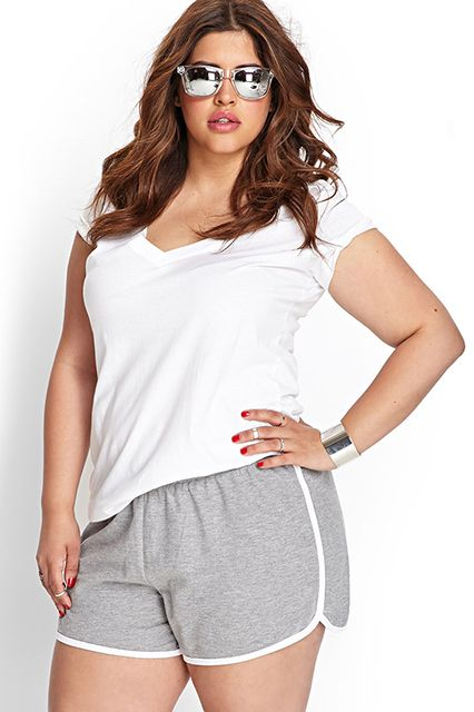plus size athletic wear 5 best outfits - curvyoutfits