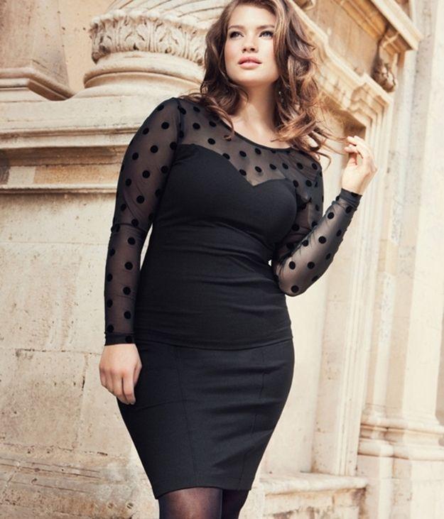Plus Size Black Dresses top 5 - curvyoutfits.com