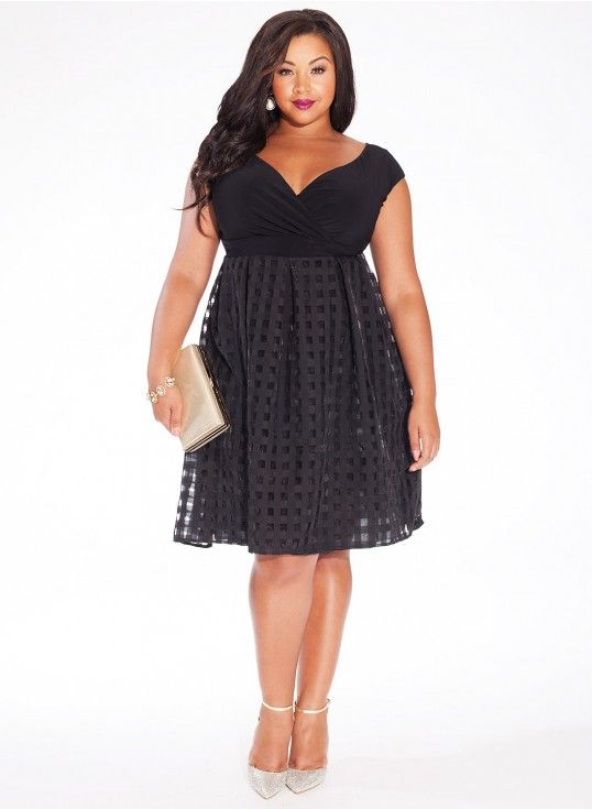 plus size black dresses top 5 - page 5 of 5 - curvyoutfits