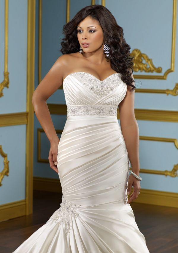 Plus Size Wedding Dresses Mermaid Style - Plus Size Fall Wedding Dresses