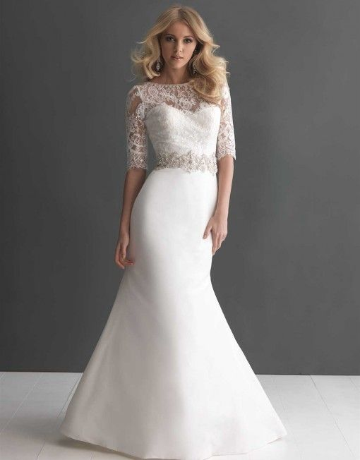 Plus Size Wedding Dresses With Lace Sleeves2