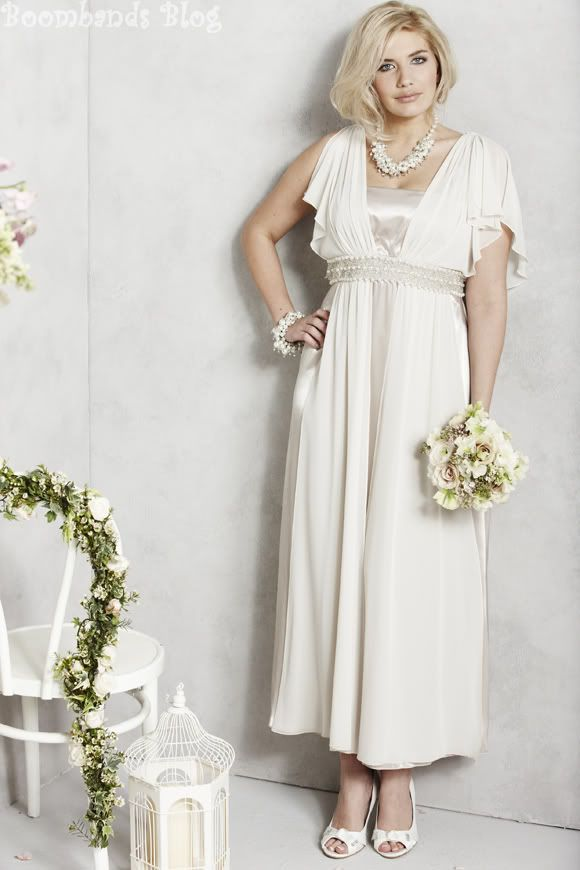 Plus size wedding gowns for mature brides - curvyoutfits.com