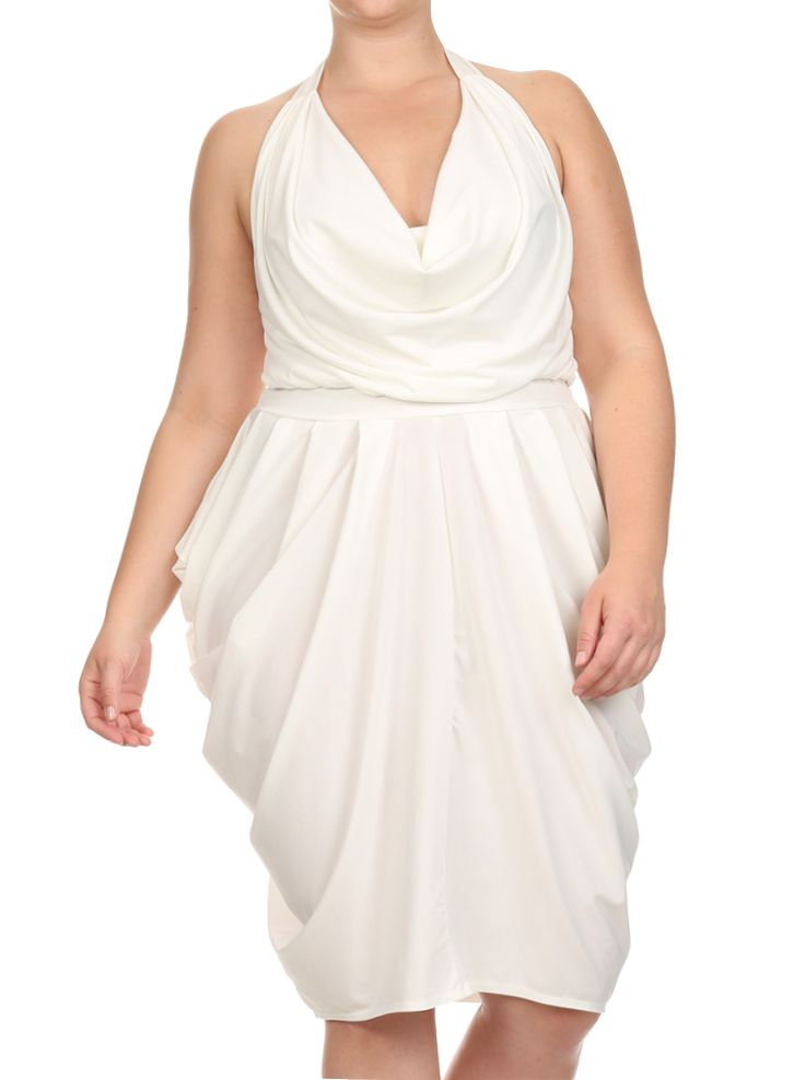 Plus size white dress club wear - Page 3 of 8 ...