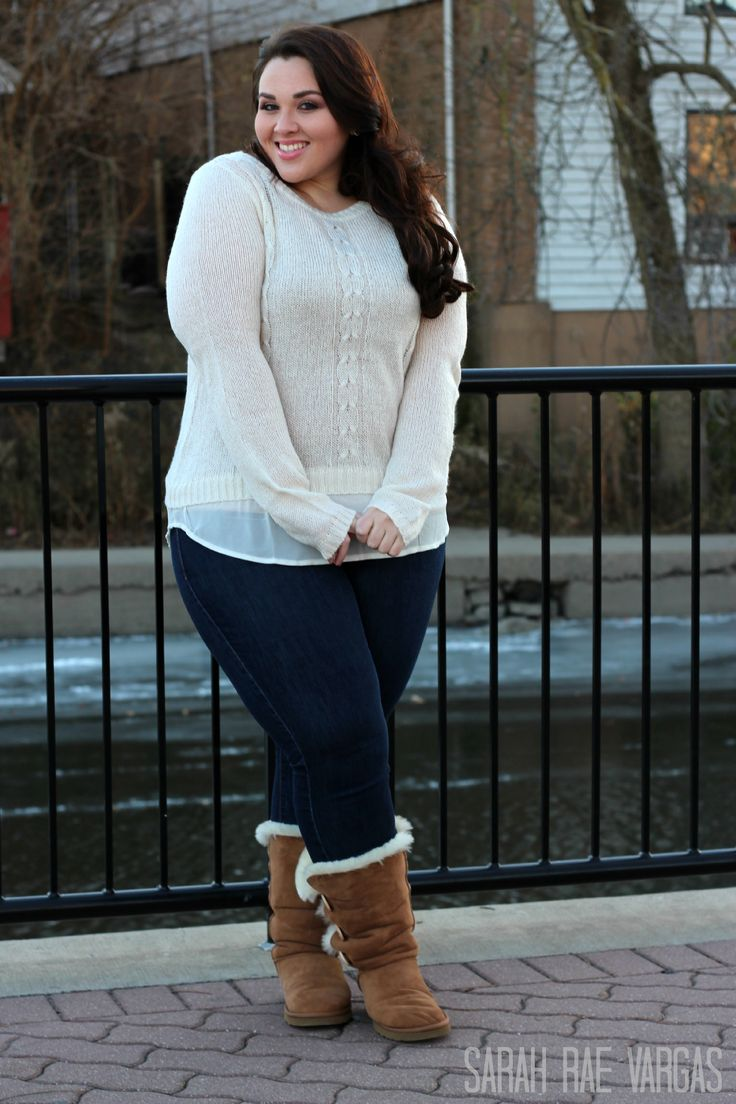 plus size winter fashion ideas - curvyoutfits