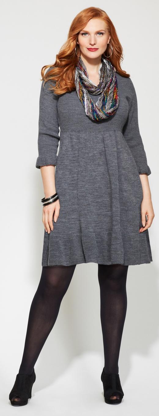 Plus size winter fashion