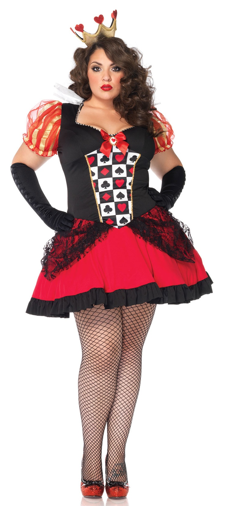 queen of hearts plus size costume - page 3 of 4 - curvyoutfits