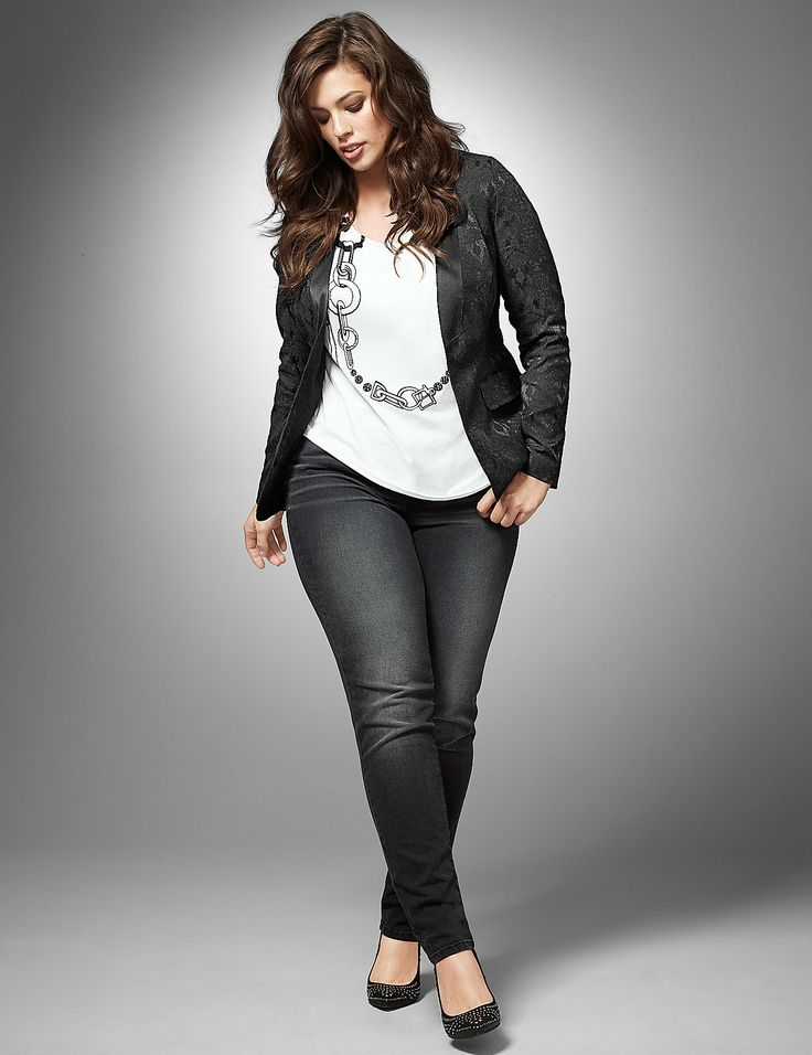 Rock Plus Size Outfit - Page 3 of 5 - curvyoutfits.com