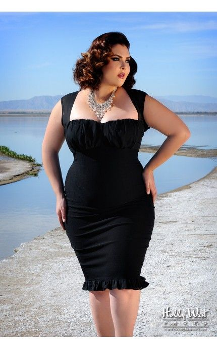 5 Amazing Black Dress Plus Size for Casual or Party Dressing - Page 2 of 5 - curvyoutfits.com