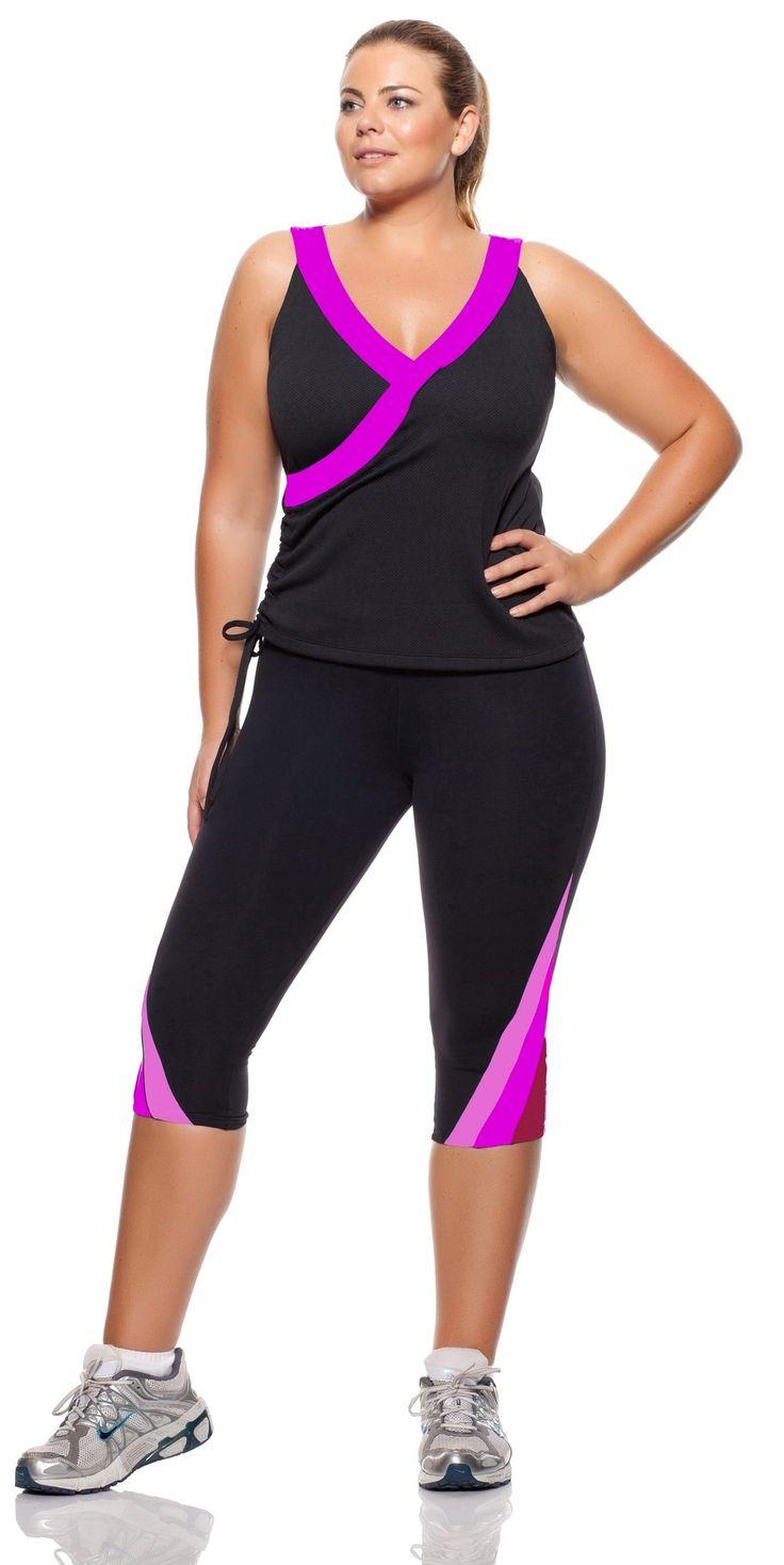 5 Must Have Plus Size Workout Clothes - curvyoutfits.com