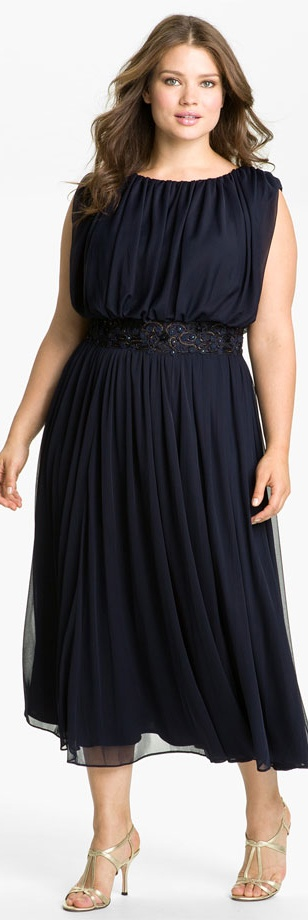 Bold and provocative plus size dresses and plus size evening wear ...