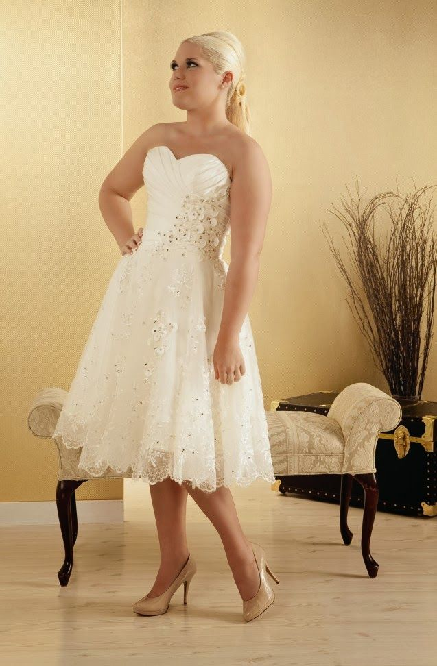 Informal plus size wedding dresses great choices for for Full size wedding dresses