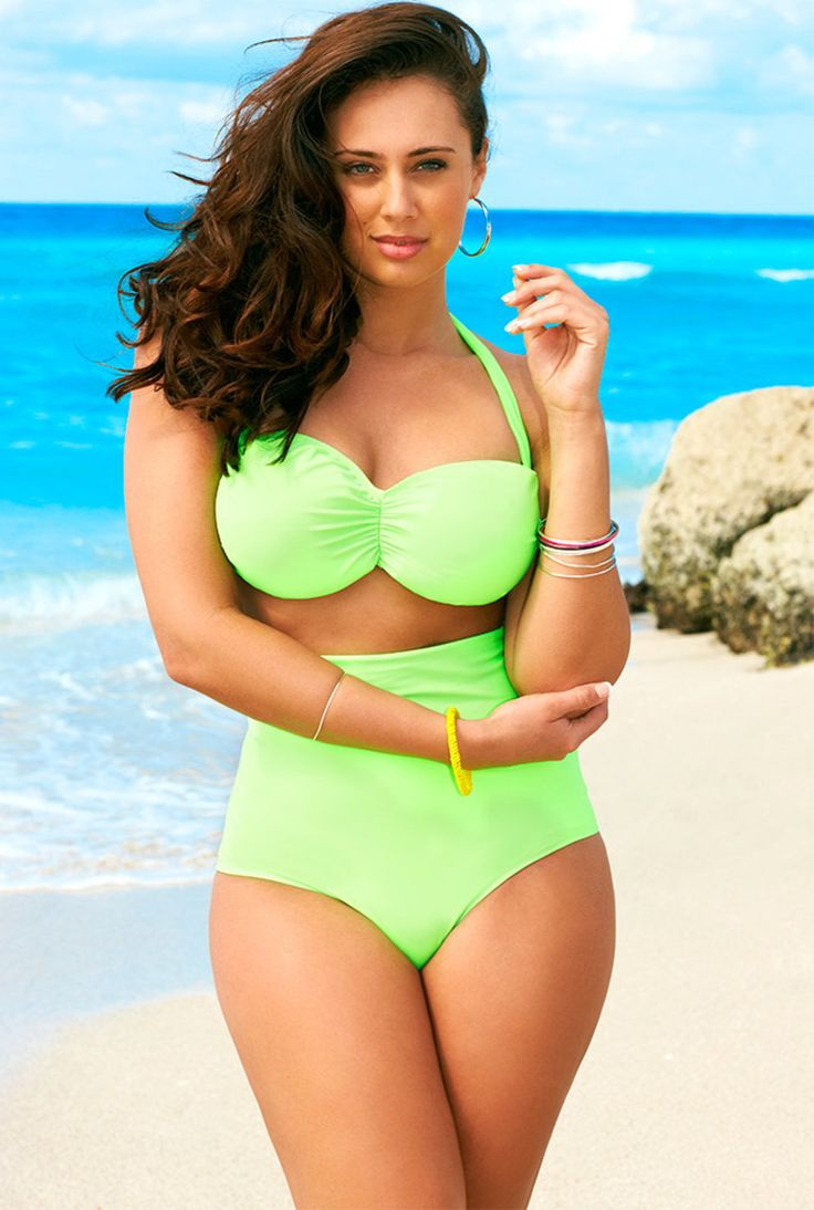 choose the plus size swim suits that matches your body color