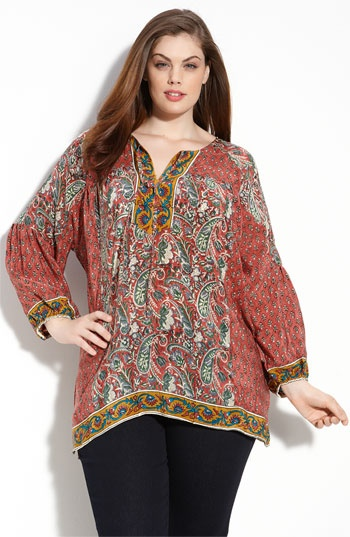 Fashionable Plus Size Hippie Clothes! - curvyoutfits.com