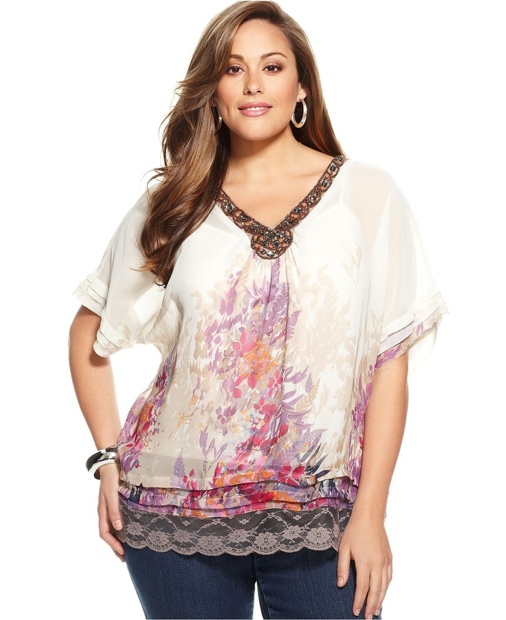 how to choose plus size blouses3 - How to choose plus size blouses