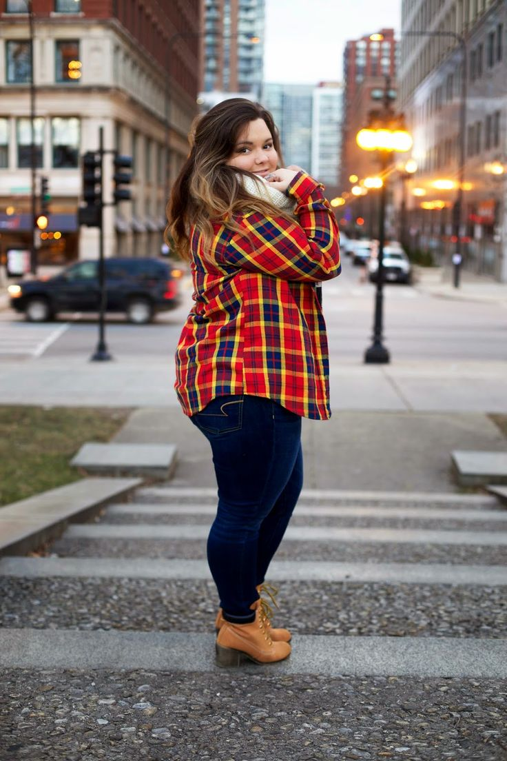 5 easy ways to create plus size street style outfits1 - 5 easy ways to create plus size street style outfits for fall