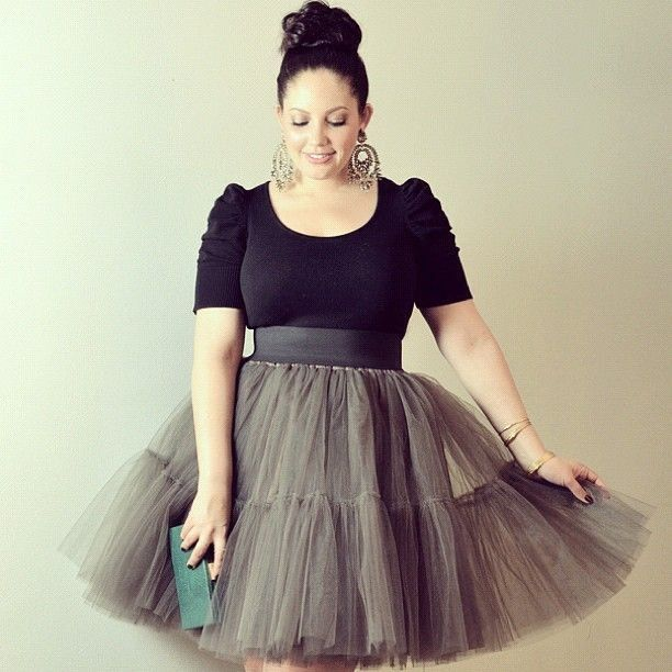 5 ways to wear a formal skirt as a plus size girl - curvyoutfits