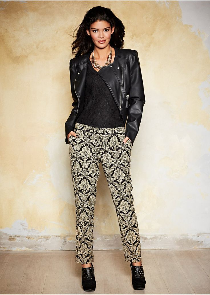 Company Christmas Party Outfit Ideas Part - 44: 5-plus-size-holiday-outfits-with-pants-to-