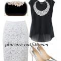 5 stylish ways to wear a black chiffon top