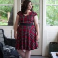 5 ways to wear a plaid dress at christmas parties 120x120 - 5 ways to wear a plaid dress at Christmas parties
