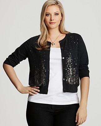 5 ways to wear a sequin cardigan without looking frumpy - Page 2 ...