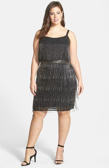 5 fringed dresses for plus size girls that you will love