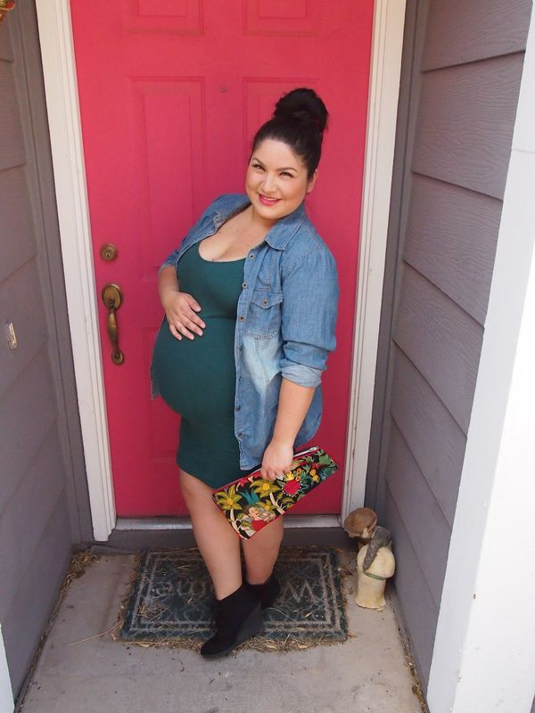 5 maternity outfits for plus size girls that you will love