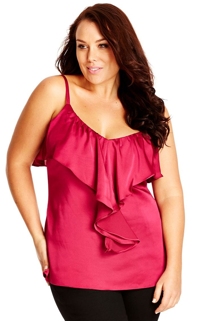 5 plus size outfits with a satin top for valentines day 4 - 5 plus size outfits with a satin top for Valentine's day