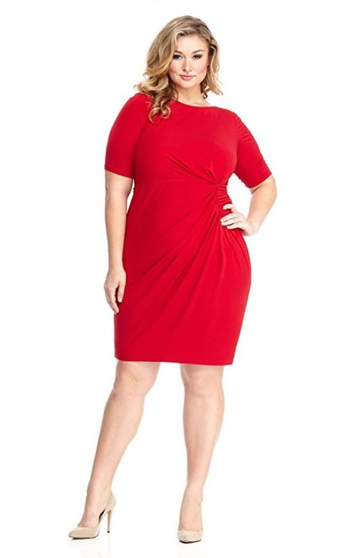 5 stunning red dresses for valentines day 5 5 plus size red dresses for valentines - Plus Size Valentine Dresses