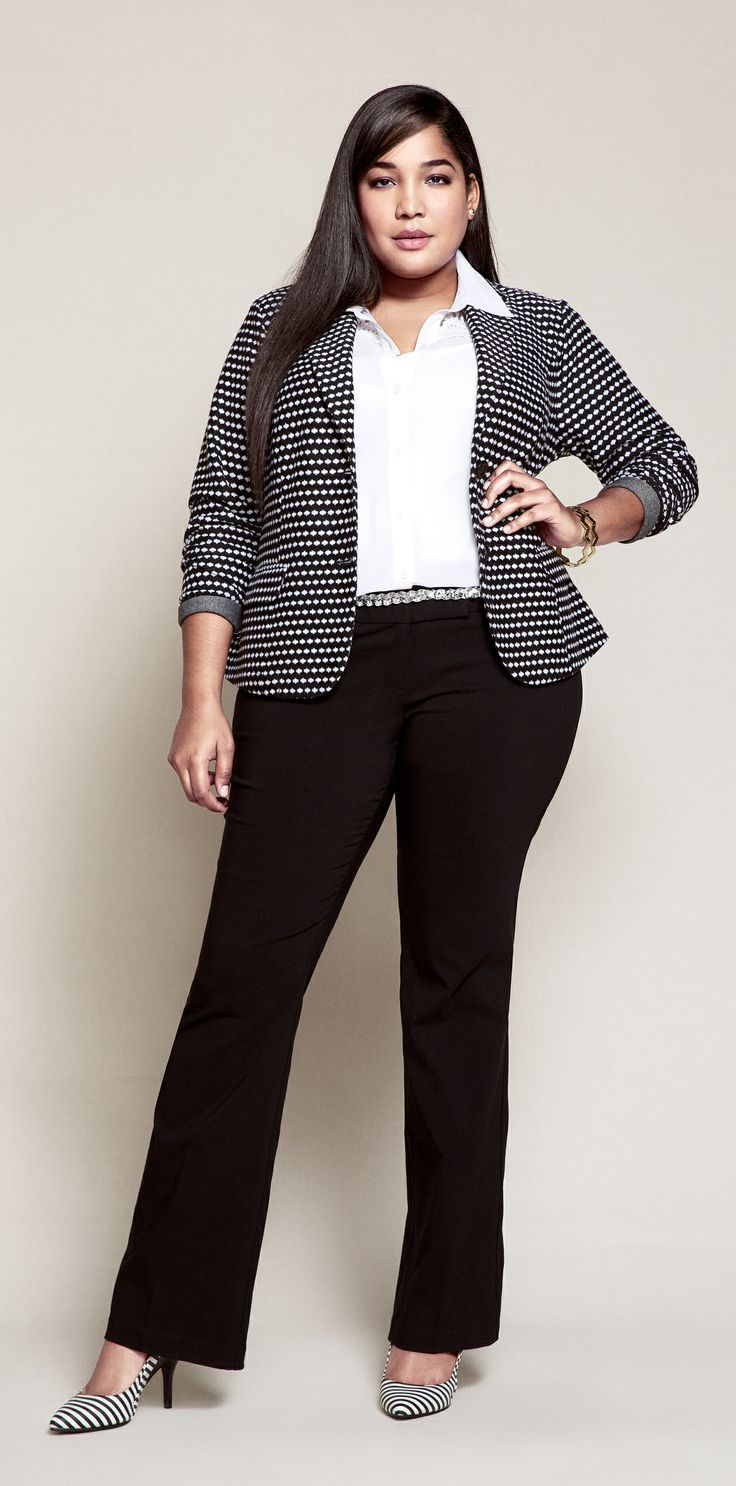 what to wear for job interview plus size