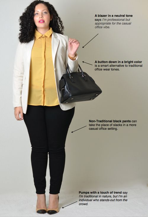 5 stylish plus size outfits for a job interview - Page 3 of 5 - curvyoutfits.com
