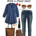 5 plus size outfits with a plaid shirt 120x120 - 5 stylish ways to wear a plus size plaid shirt