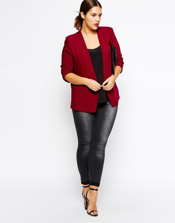 5 stylish plus size blazers that flatter curvy women 4 - 5 stylish plus size blazers that flatter curvy women