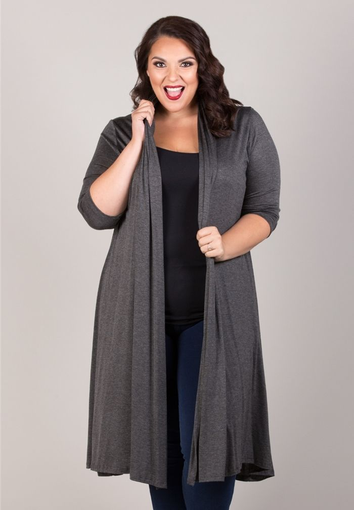 5 ways to wear a cardigan and look amazing - Page 3 of 5 - curvyoutfits.com