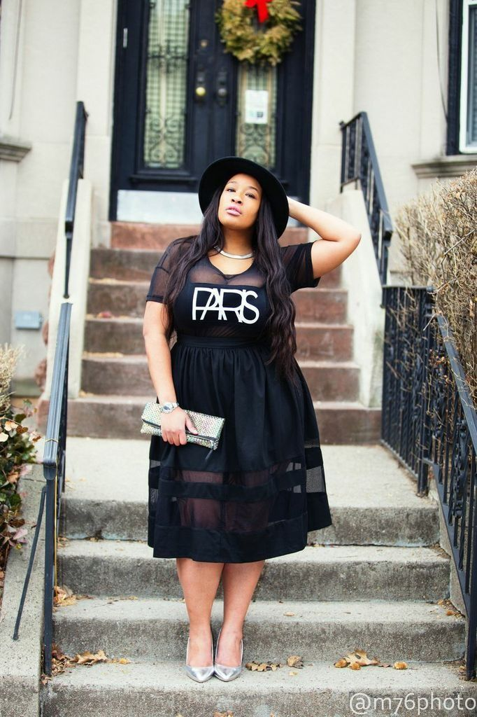 How to be a glamazon as a plus size woman - curvyoutfits.com