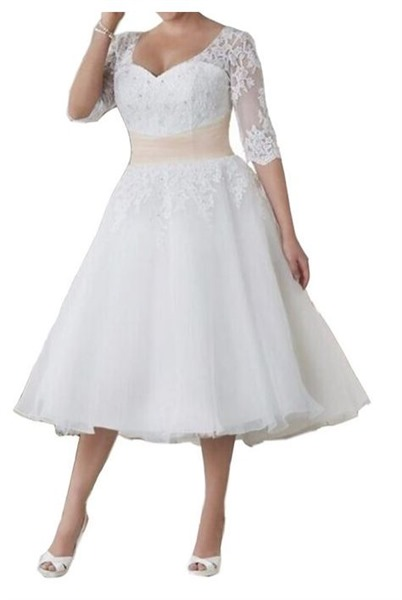 plus size after wedding dress 4