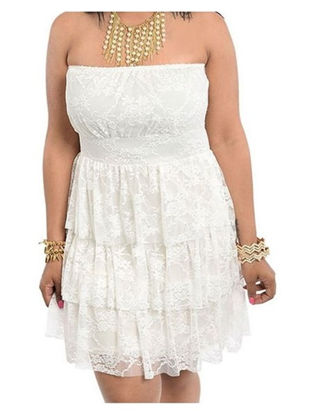 6 stylish plus size after wedding dress ideas page 4 of for Plus size after wedding dress