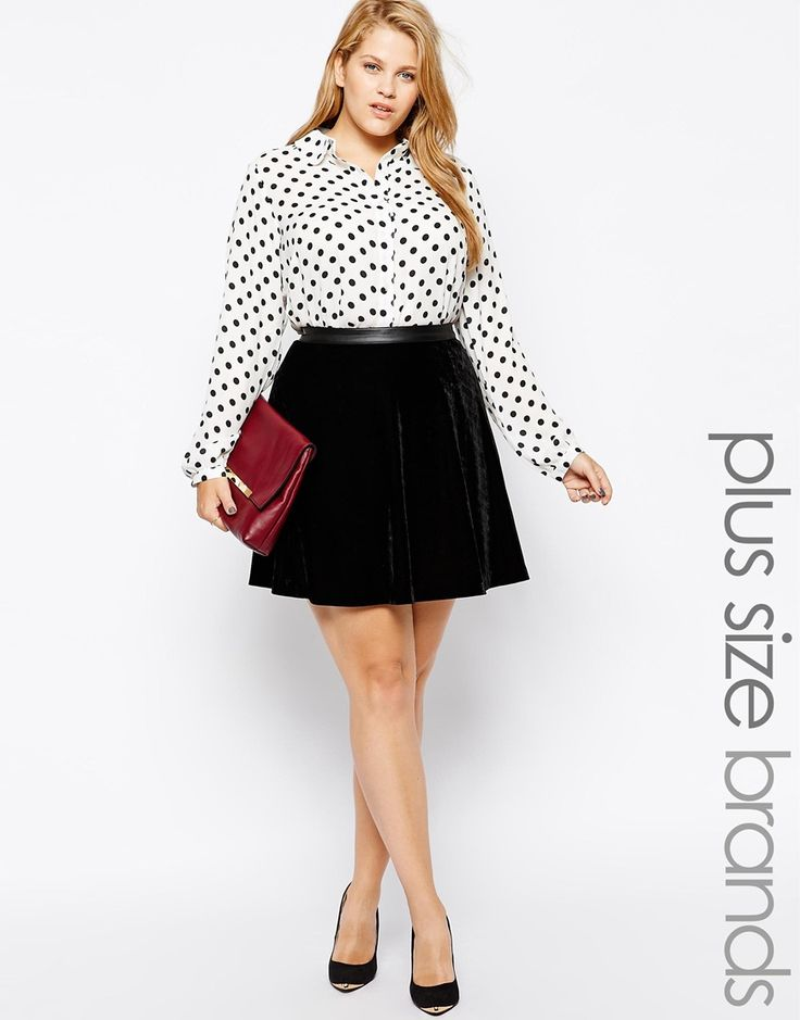 5 velvet skirts for plus size page 5 of 5