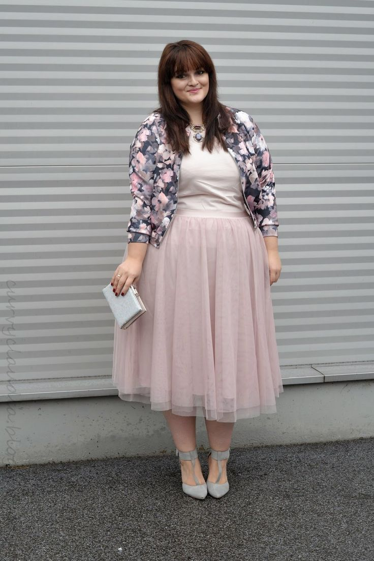 5 plus size skirts for romantic outfits