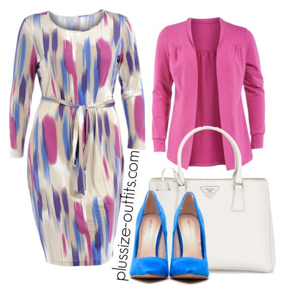 5 spring outfits with a plus size pencil dress 3 - 5 spring outfits with a plus size pencil dress
